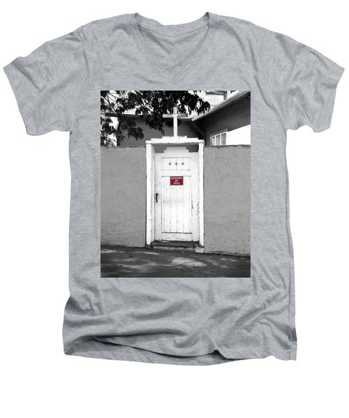 Guard Dogs For God Men's V-Neck T-Shirt