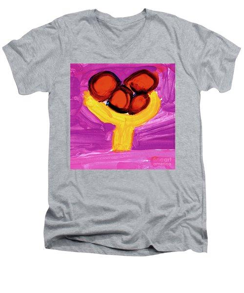 Happy Fruit Men's V-Neck T-Shirt