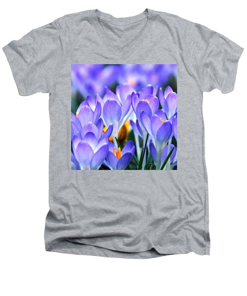 Here Come The Croci Men's V-Neck T-Shirt
