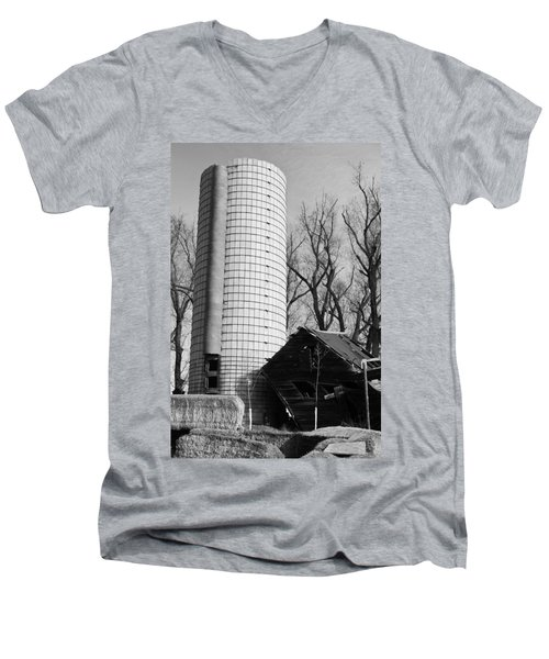Men's V-Neck T-Shirt featuring the photograph Hold Me Up by Colleen Coccia