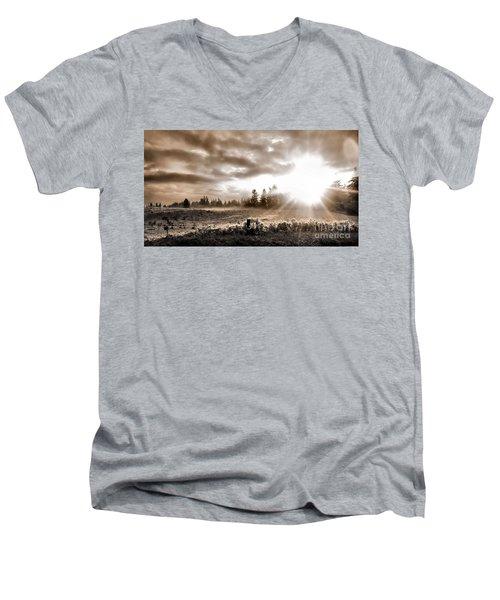 Hope II Men's V-Neck T-Shirt
