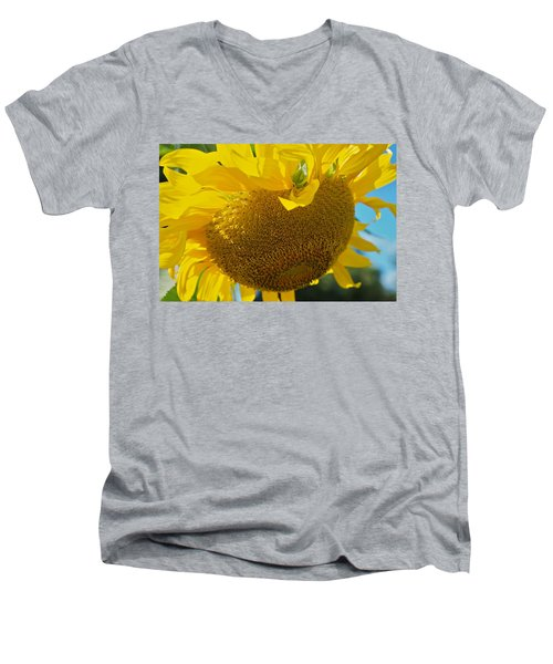 Men's V-Neck T-Shirt featuring the photograph Hungover by Joseph Yarbrough