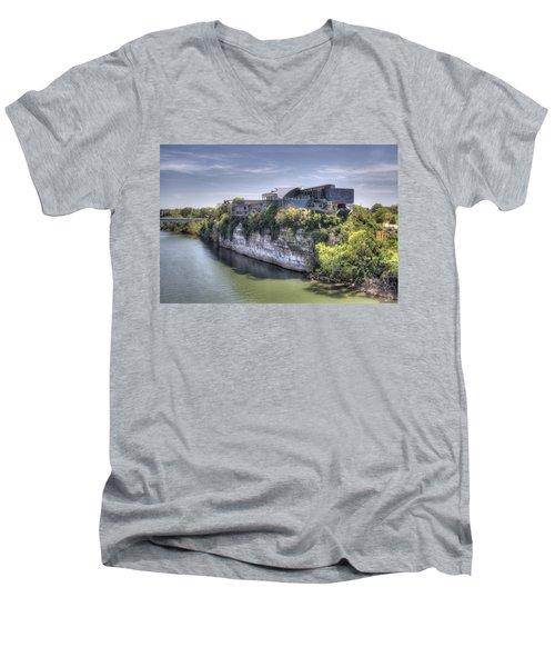 Hunter Museum  Men's V-Neck T-Shirt