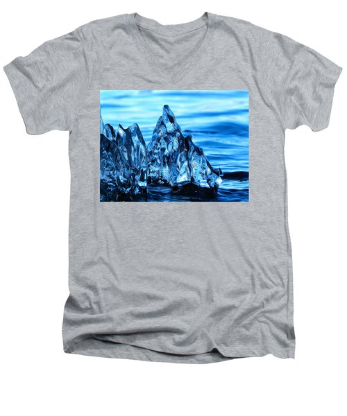 Iceberg River Men's V-Neck T-Shirt