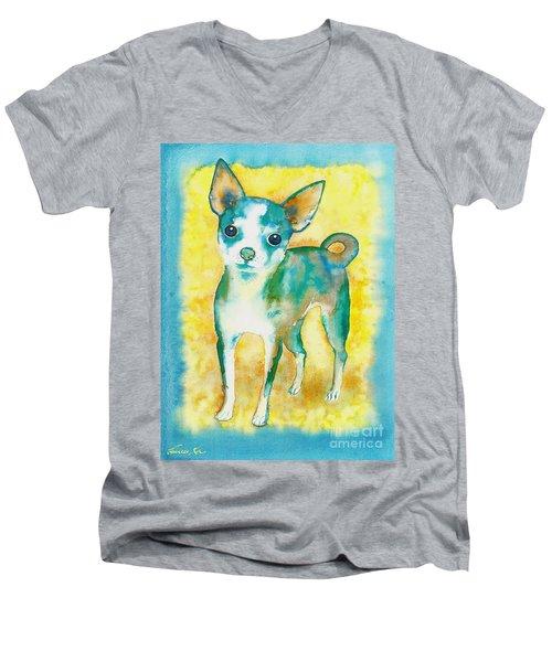 Ilio Chihuahua Men's V-Neck T-Shirt