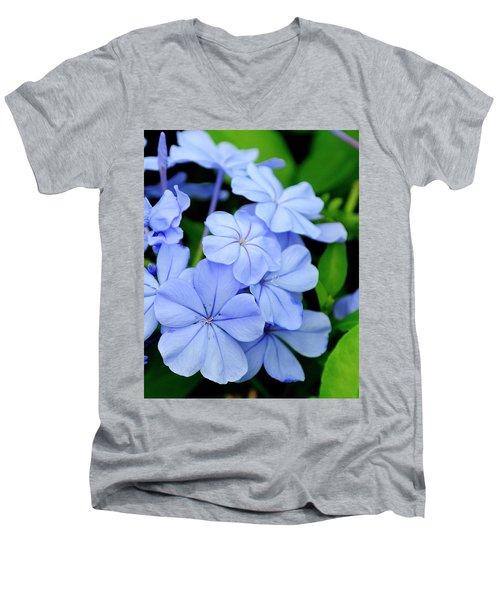 Imperial Blue Men's V-Neck T-Shirt