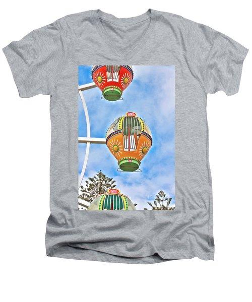 In Descent Men's V-Neck T-Shirt