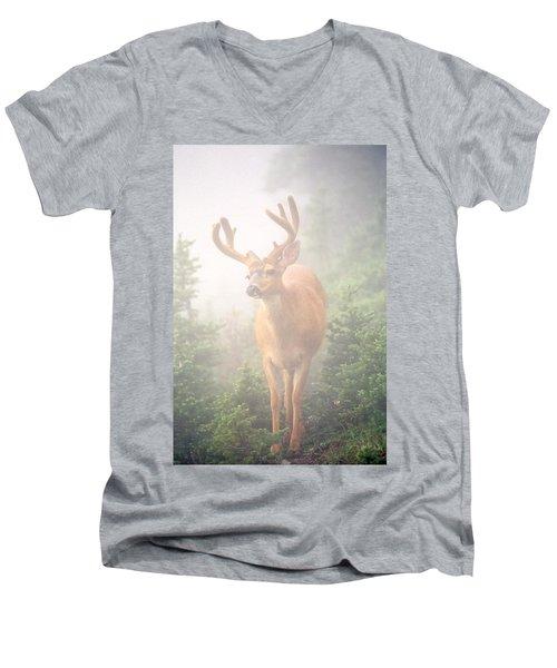 In The Mist Men's V-Neck T-Shirt