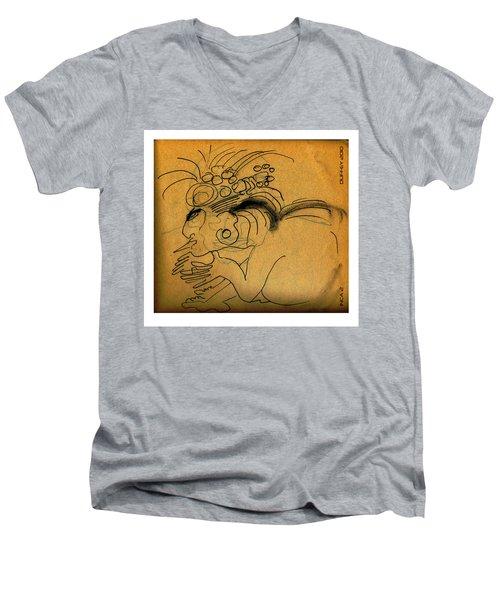 Inca 2 Men's V-Neck T-Shirt