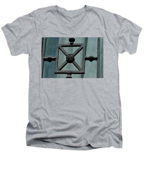 Iron Work Men's V-Neck T-Shirt