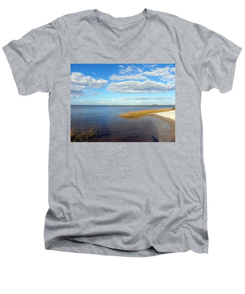 Island Skies Men's V-Neck T-Shirt
