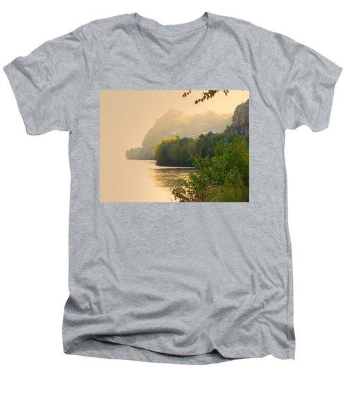 Islands In The Stream II Men's V-Neck T-Shirt