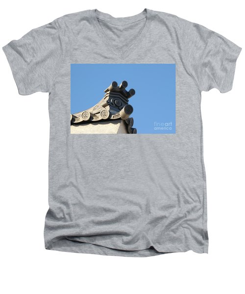 Japanese Rooftop Men's V-Neck T-Shirt