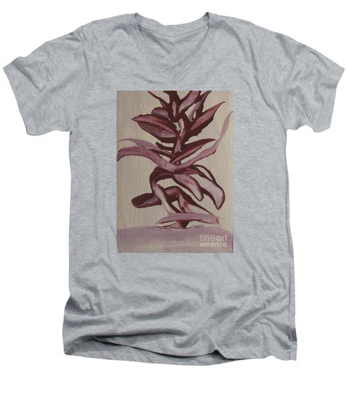 Jungle Pinks Men's V-Neck T-Shirt