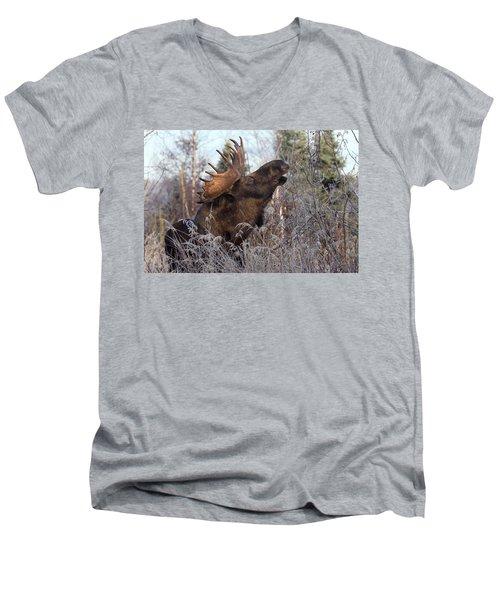 Just A Little Bit Higher Men's V-Neck T-Shirt