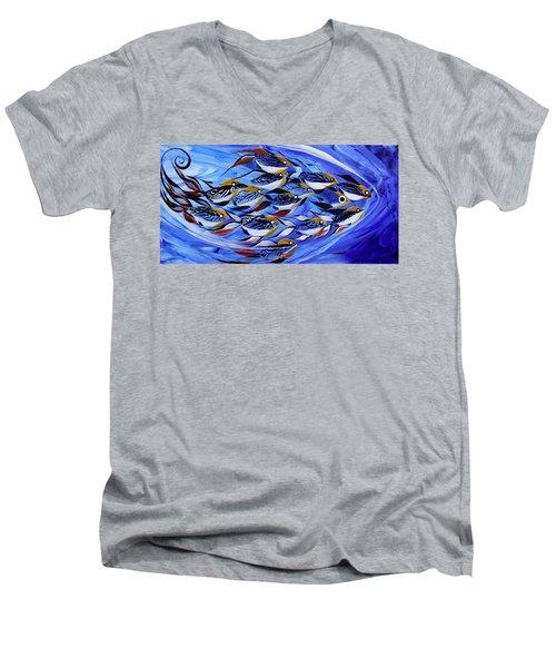 Keep It Together Men's V-Neck T-Shirt