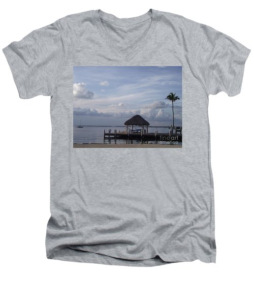 Key Largo Retreat Men's V-Neck T-Shirt