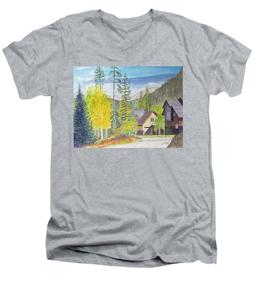 Keystone Co Men's V-Neck T-Shirt