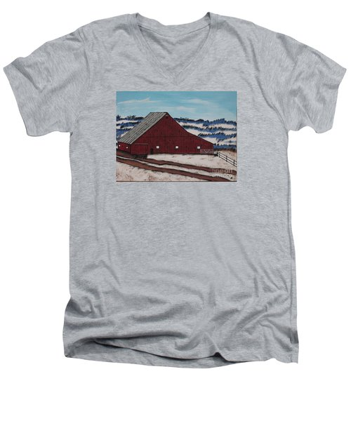 Keystone Farm Men's V-Neck T-Shirt