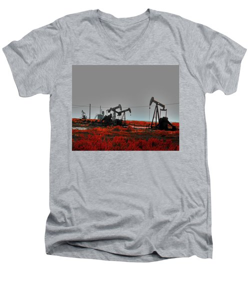 Killing Ground Men's V-Neck T-Shirt