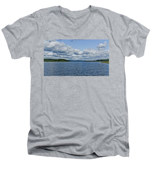 Lake Seliger Men's V-Neck T-Shirt