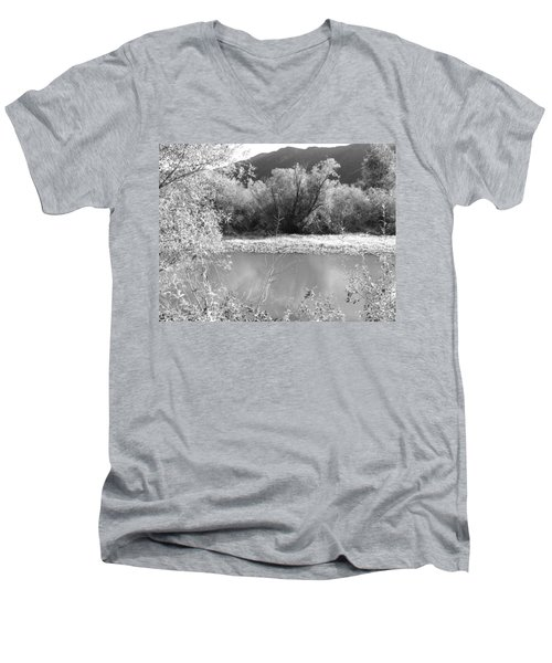 Lakeside Mountain View Men's V-Neck T-Shirt