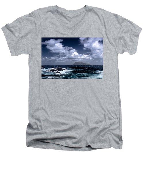 Land In Sight Men's V-Neck T-Shirt