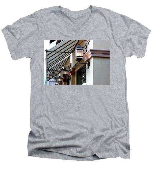 Lanterns And Lines Men's V-Neck T-Shirt