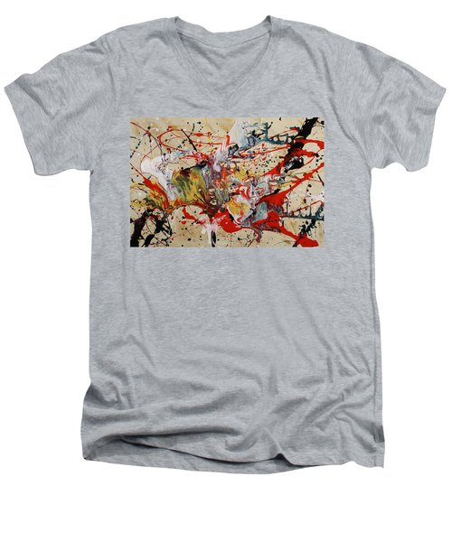 Lassoed A Tornado Men's V-Neck T-Shirt