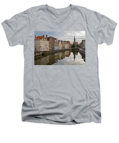 Late Afternoon Reflections Men's V-Neck T-Shirt