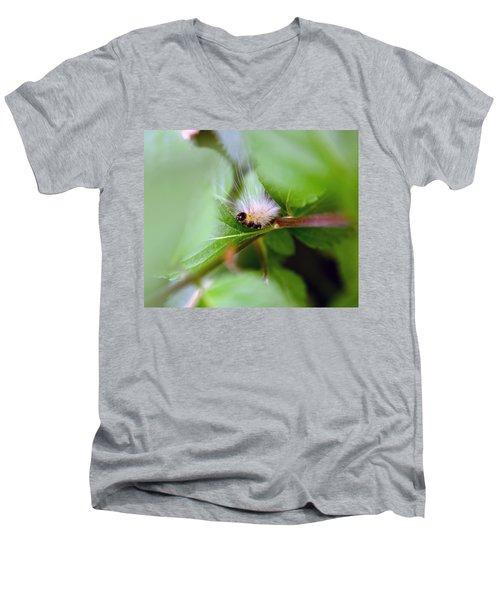 Leaf For One Men's V-Neck T-Shirt