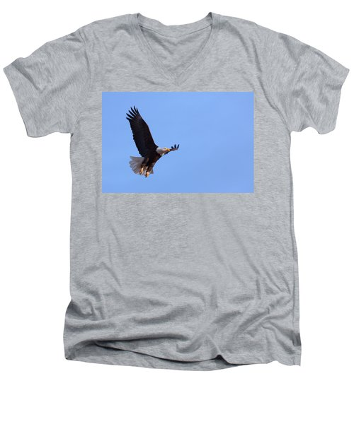 Men's V-Neck T-Shirt featuring the photograph Lift by Jim Garrison