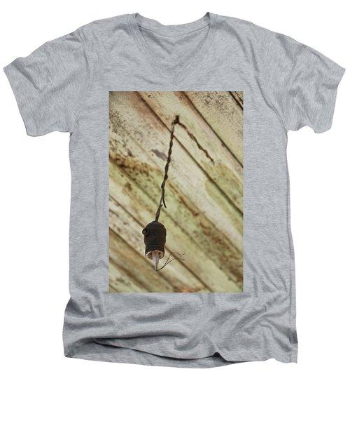 Lights Out Men's V-Neck T-Shirt