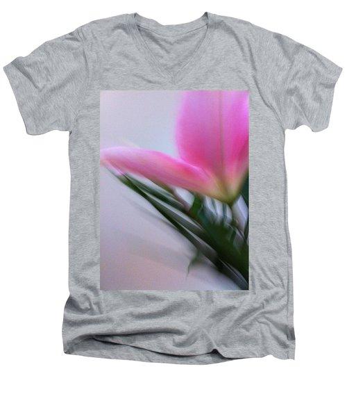 Lily In Motion Men's V-Neck T-Shirt