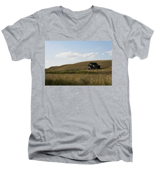 Little House On The Plains Men's V-Neck T-Shirt