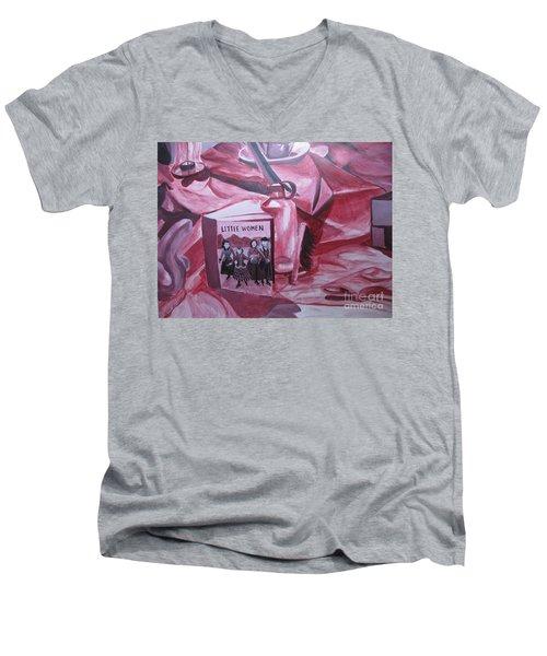Little Women Men's V-Neck T-Shirt