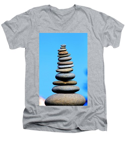 Lofty Prayers Men's V-Neck T-Shirt