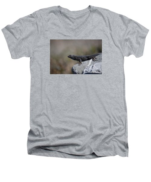 Look At Me Men's V-Neck T-Shirt by Ivete Basso Photography
