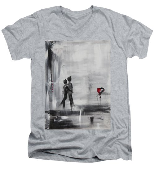 Love Story 1 Men's V-Neck T-Shirt