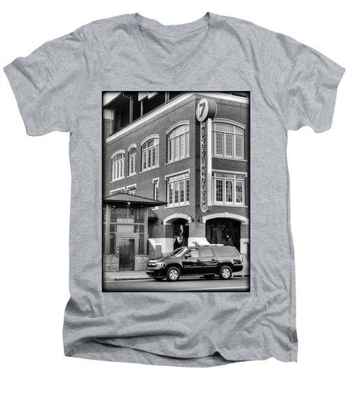 Mantle's Men's V-Neck T-Shirt