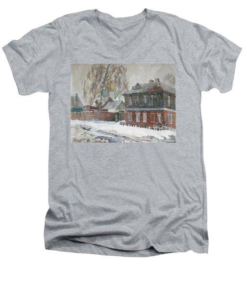 March Men's V-Neck T-Shirt