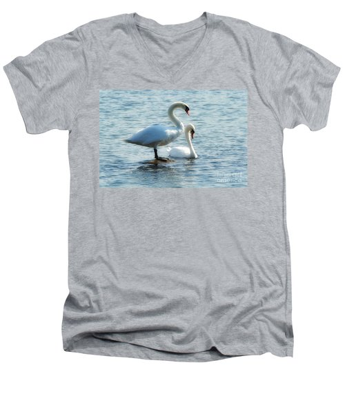 Mating Pair Men's V-Neck T-Shirt