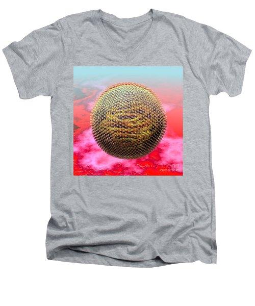 Measles Virus Men's V-Neck T-Shirt