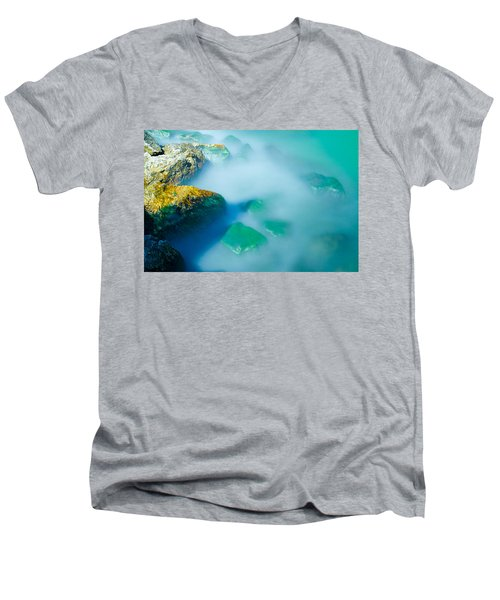 Misty Water Men's V-Neck T-Shirt
