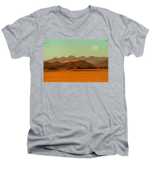 Moonrise Moment Men's V-Neck T-Shirt