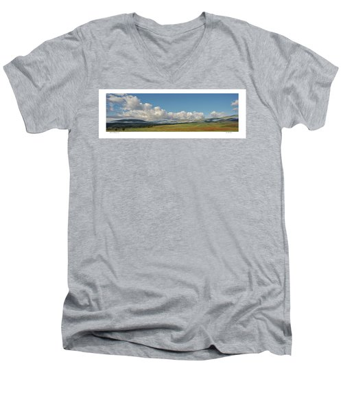 Moreno Valley Clouds Men's V-Neck T-Shirt