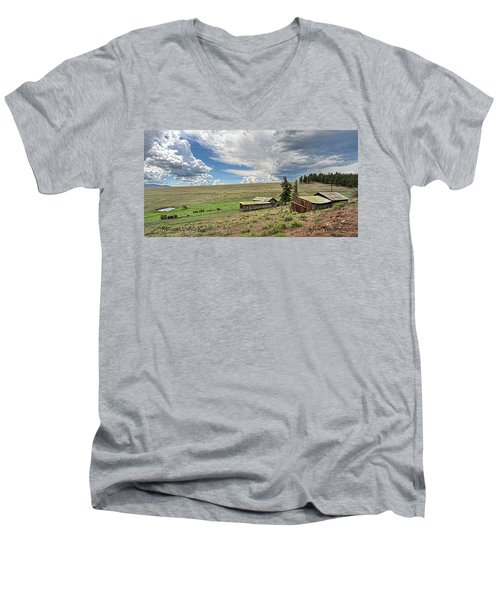 Moreno Valley Ranch Men's V-Neck T-Shirt