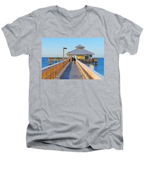 Morning Walk Men's V-Neck T-Shirt
