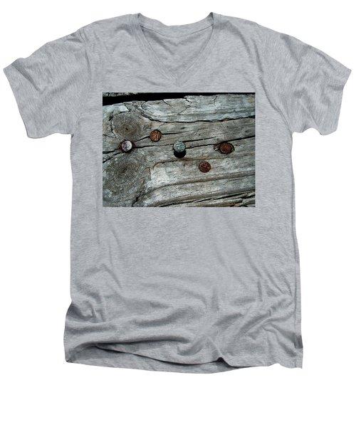 Nails Men's V-Neck T-Shirt