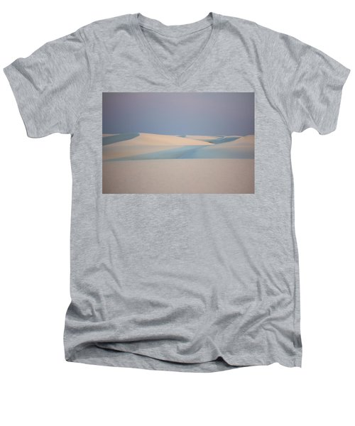 Nature Men's V-Neck T-Shirt by Marlo Horne